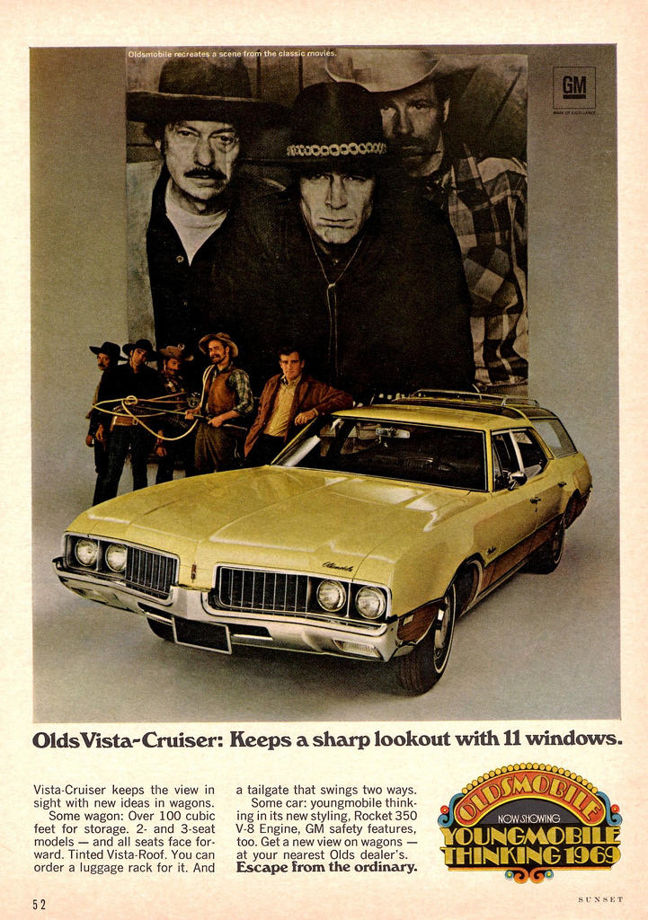 oldsmobile vista cruiser ad