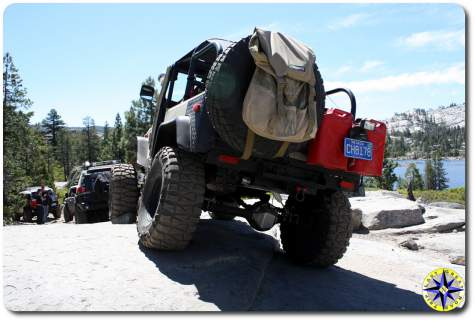 fj cruisers and fj40 rubicon trail loon lake