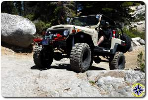 FJ40 on rucion trail