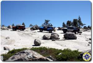 fj cruiser lineup rubicon trail