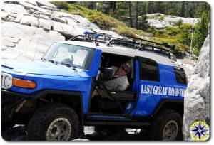 fj cruiser little sluice rubicon trail