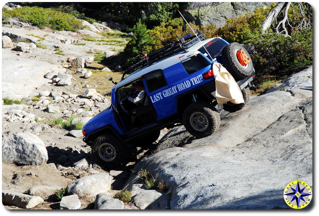 fj cruiser rubicon trail