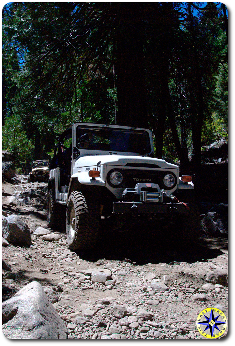 fj40 rubicon trail