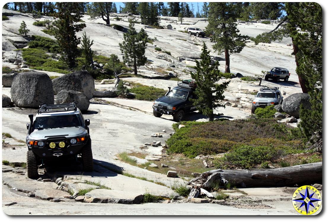 toyota trucks rubicon trail
