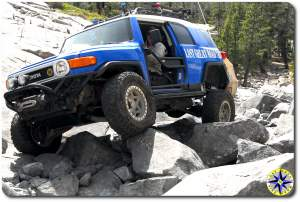 FJ Cruiser little sluice
