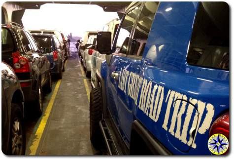 fj cruiser commuting washington state ferry