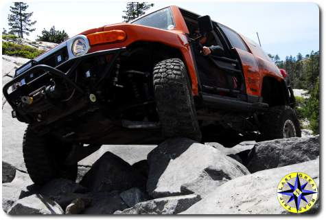 metal tech 4x4 fj cruiser little sluice rubicon trail