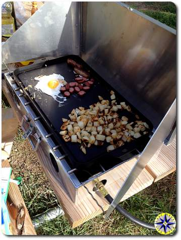 breakfast camp stove