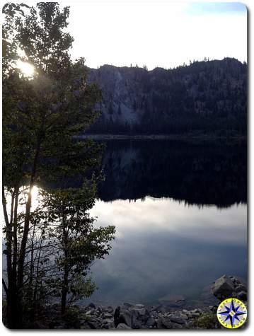 lake alta morning