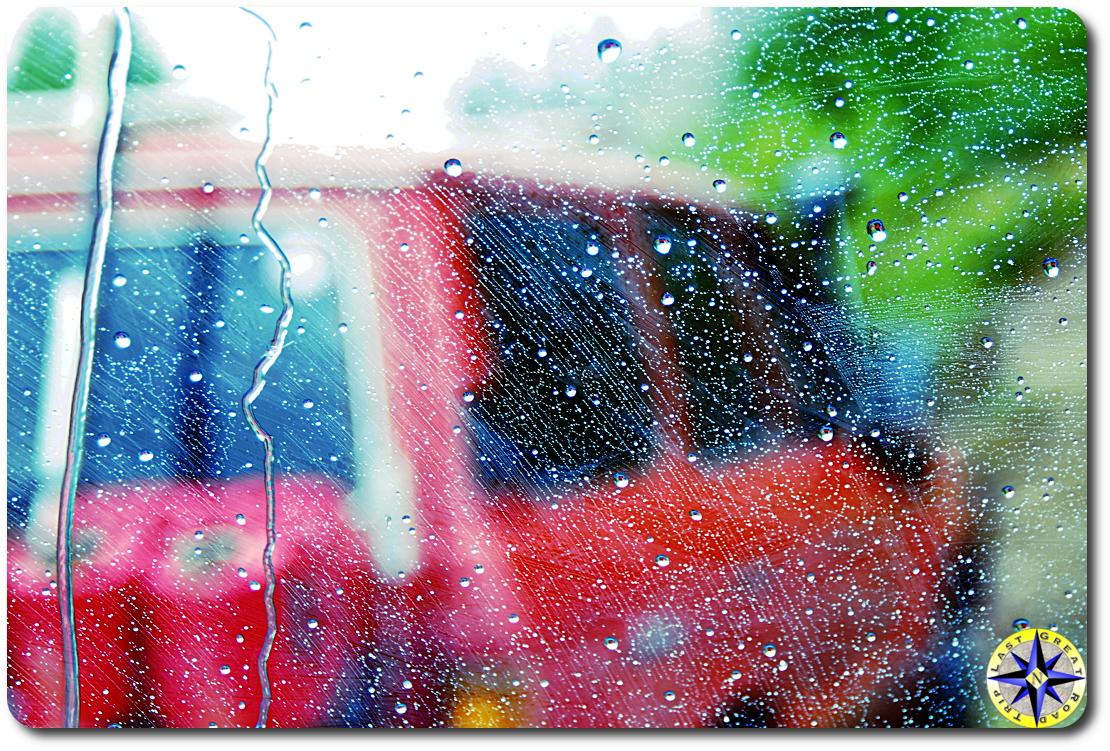 rainy view toyota bj60