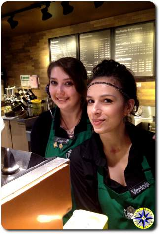 starbucks coffee women