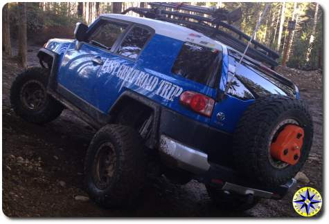 ultimate fj cruiser trail flexing