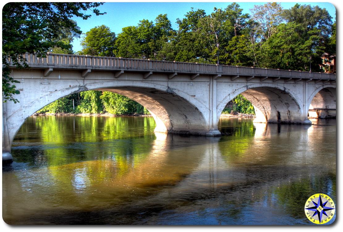 bridge Niles Michigan
