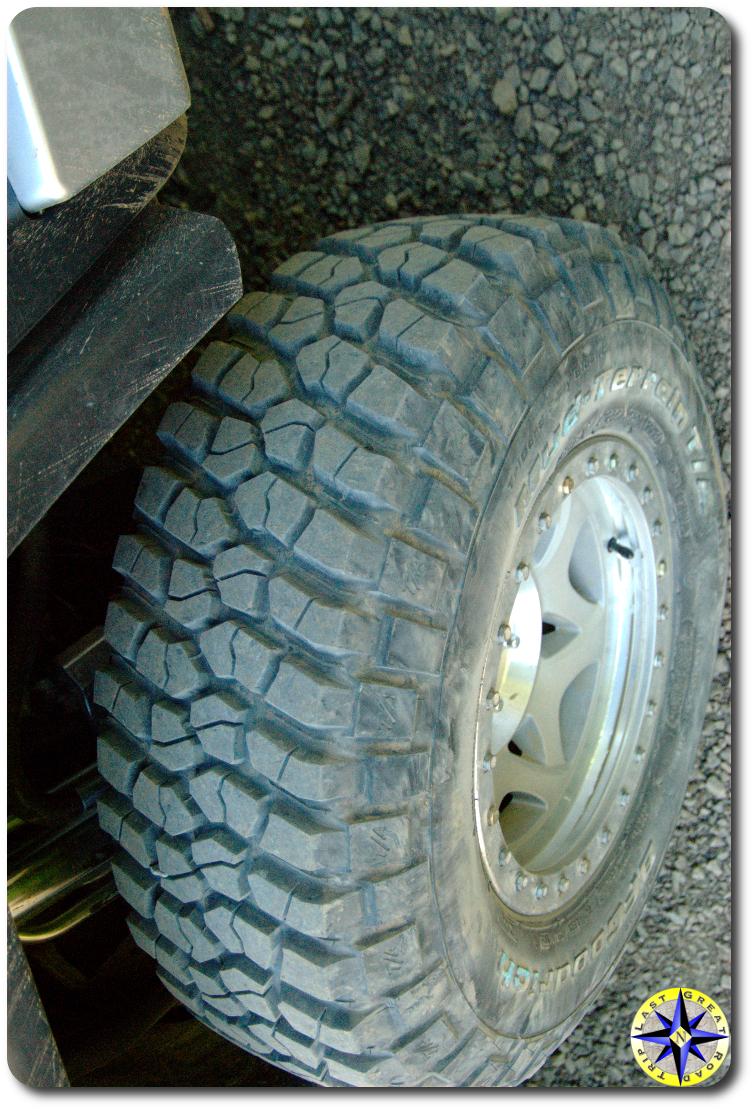 bfgoodrich km2 mud tire
