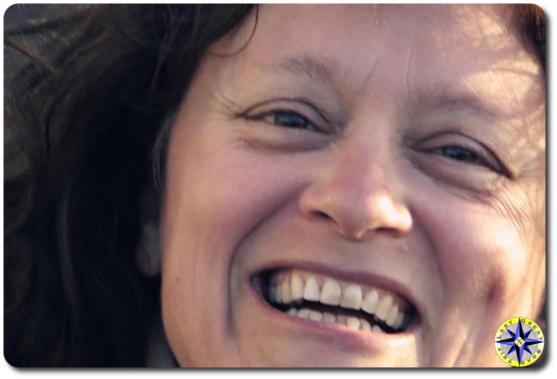 hula betty - closeup woman smiling