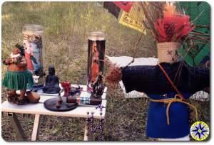 hindu buddha voodoo hoodoo alter