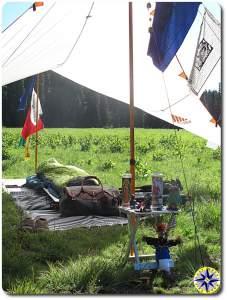 voodoo travler alter minimalist primitive camping
