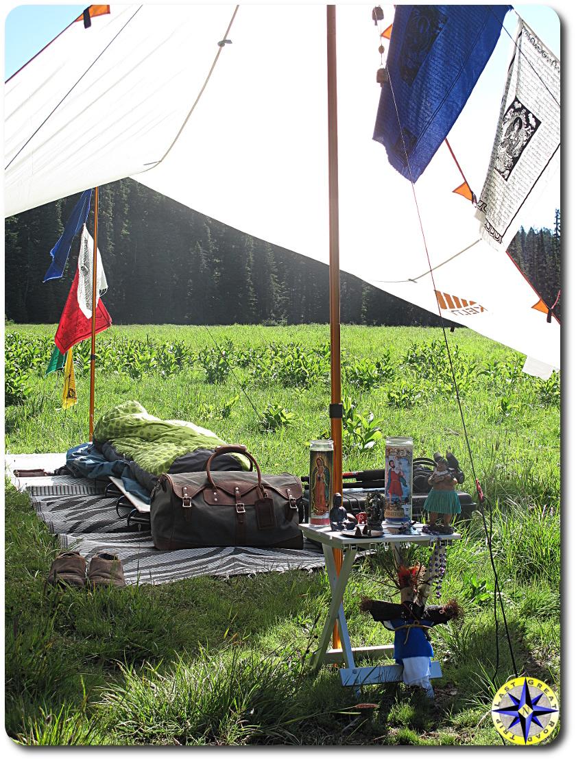 voodoo camping travler alter