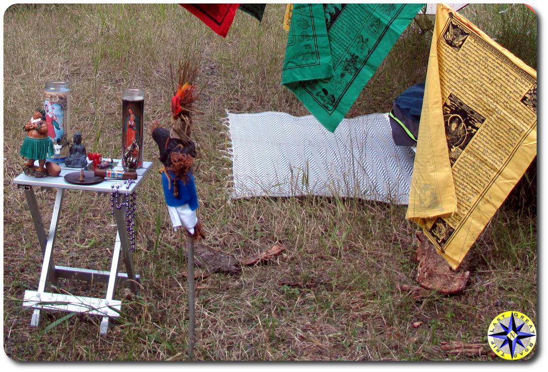voodoo doll prayer alter