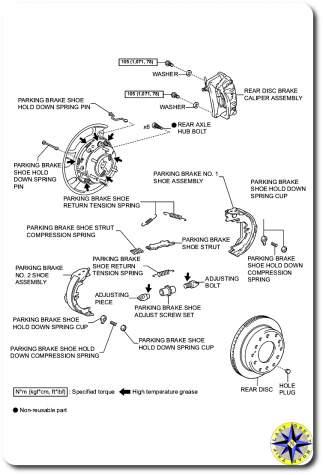 rear axle hub parts