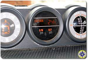 fj cruiser cluster gages