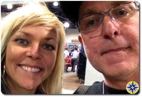jessi combs selfie sema 2014