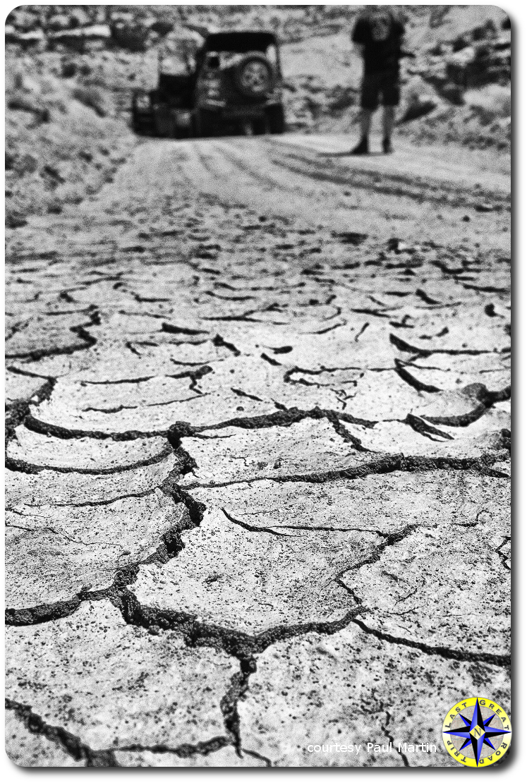 utah bone dry mud land rover defender