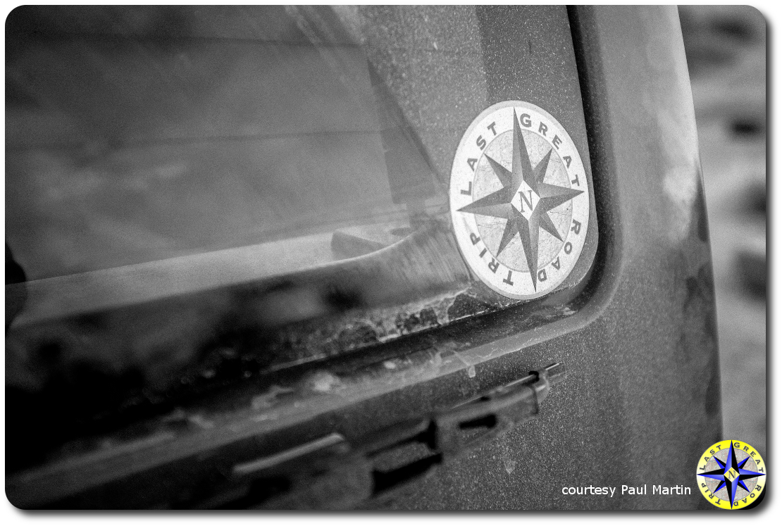 Last Great Road Trip window decal