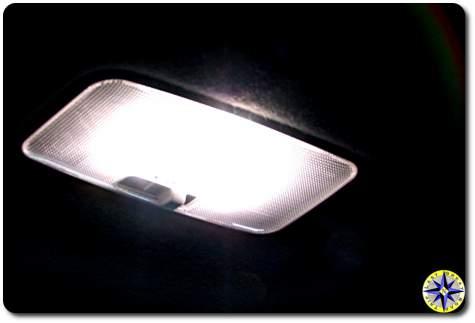 bright LED dome light