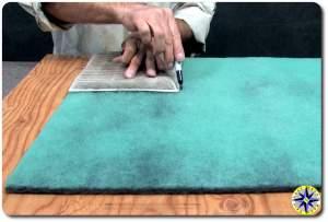 DIY cabin air filter process