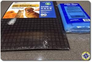 WEB absorber DIY cabin air filter material