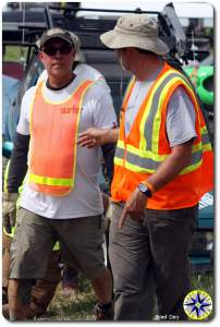 men in safety vests