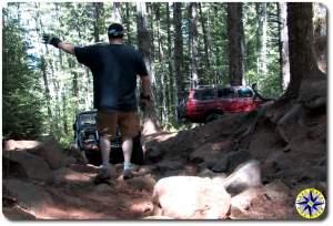 4x4 trail spotter d90 bj60