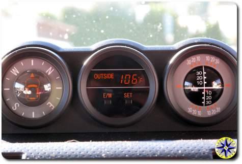 fj cruiser gauge pod 106 temp