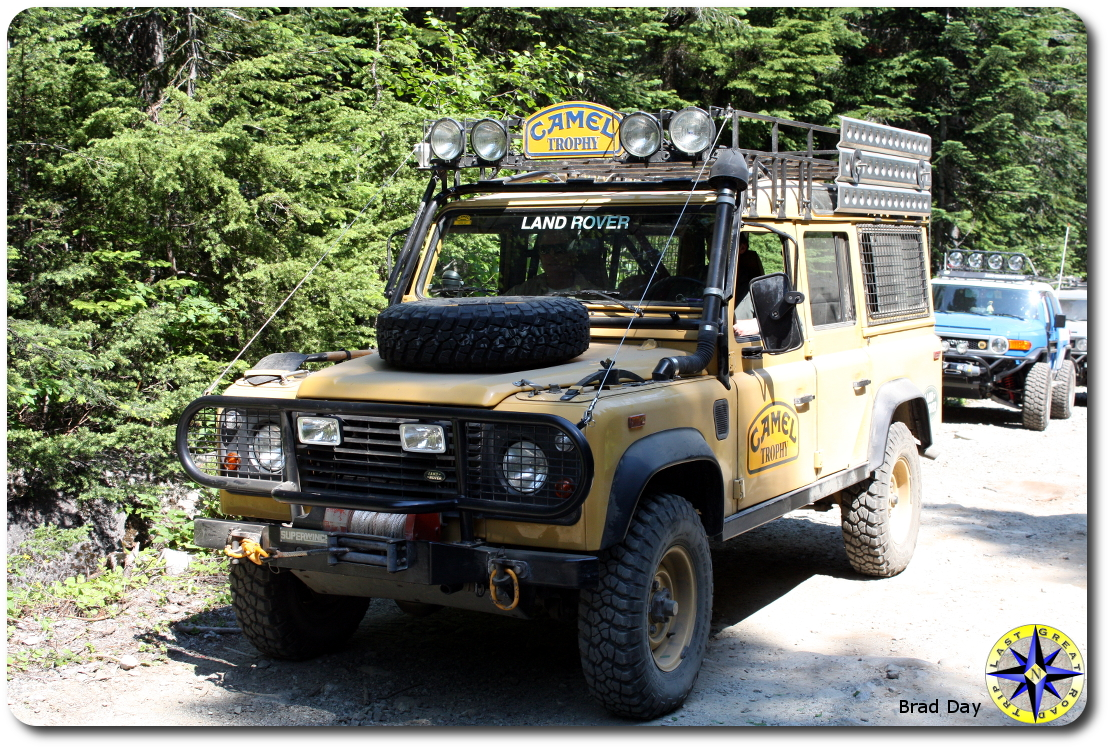 Land Rover Defender Camel Trophy >> NW Overland Rally 2015 | Overland Adventures and Off-Road