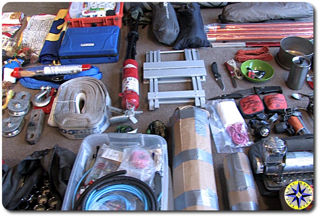 essential off-road equipment