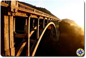 bixby creek bridge on highway 1