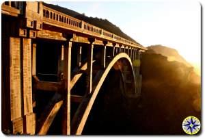 bixby creek bridge on highway 1