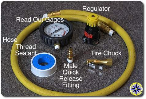 automatic tire inflator parts