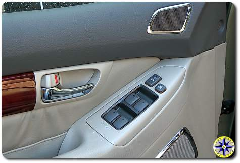 lexus GX470 window console