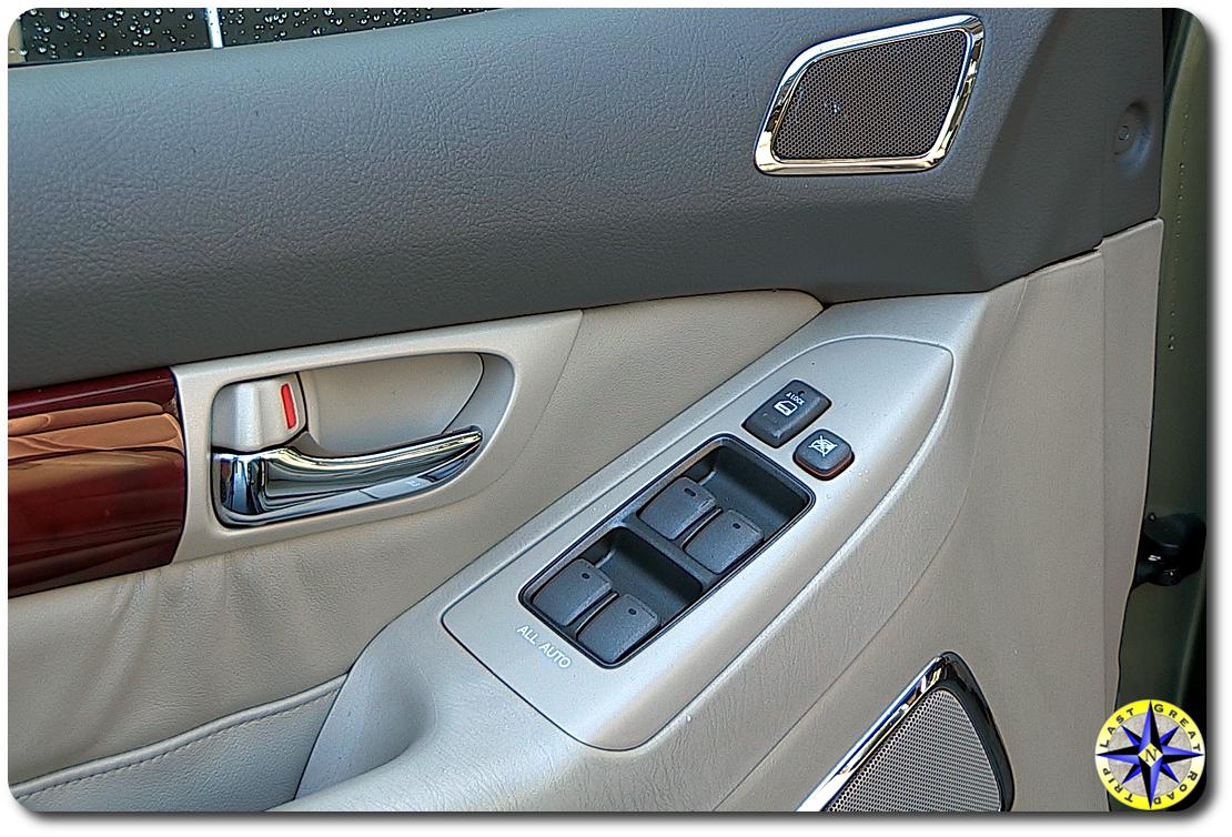 lexus GX470 window console
