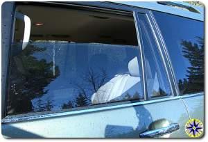 lexus gx470 rear passanger window