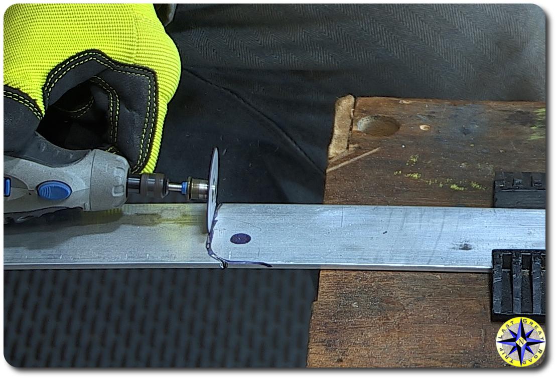 Improved Lexut GX470 rear doot strut flat bar