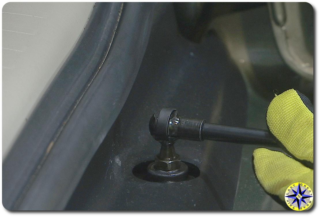 Improved Lexut GX470 rear doot strut connect