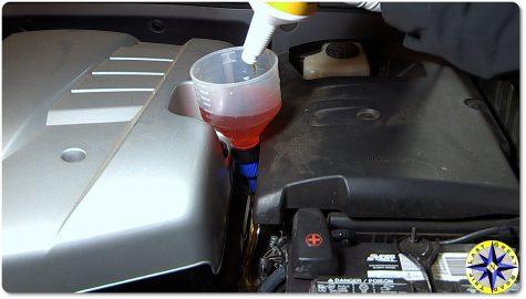 lexus GX470 engine compartment