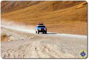FJ cruiser haul road