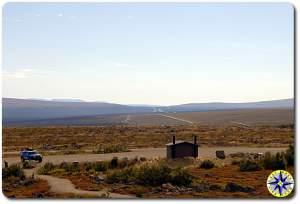 alaska tundra oil pipe line