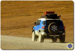fj cruiser dalton highway alaska