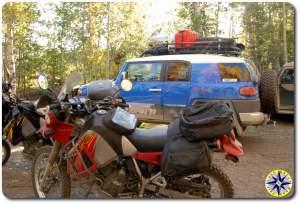 fj cruiser motocycles wiseman alaska