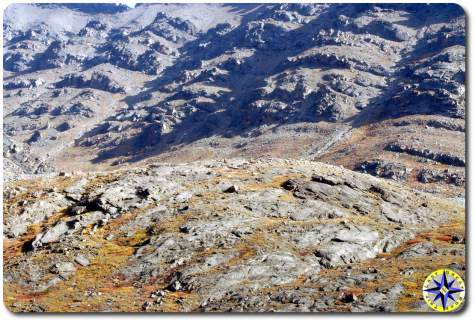 rugged alaska tundra foot hills
